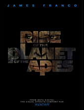 The Rise of the Planet of the Apes Teaser Movie Poster