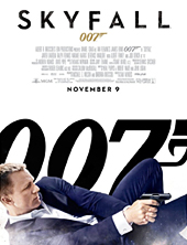 007 Skyfall Movie Poster